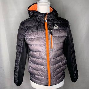Gerry puffer zip up jacket